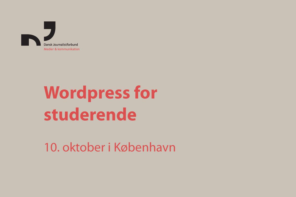 c2190a6d Lær at designe din egen hjemmeside og/eller blog med WordPress - som du kan  bruge ifm din jobsøgning. På kurset starter du din egen hjemmeside op - som  du ...