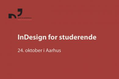 Kursus i InDesign for studerende