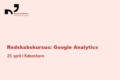 Redskabskursus: Google Analytics