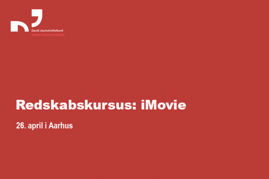 Redskabskursus: iMovie