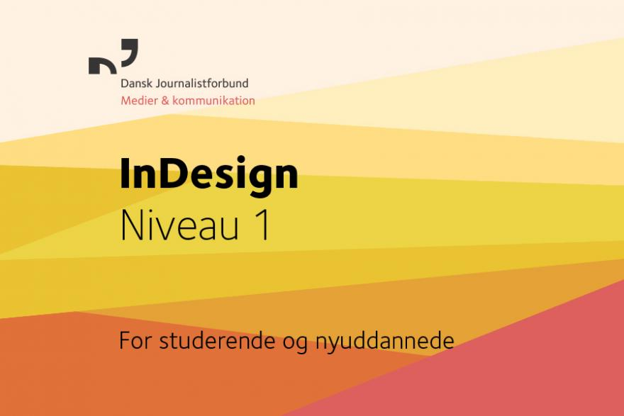 InDesign 1, coverbillede