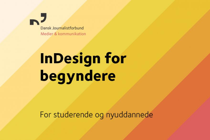InDesign, coverbillede