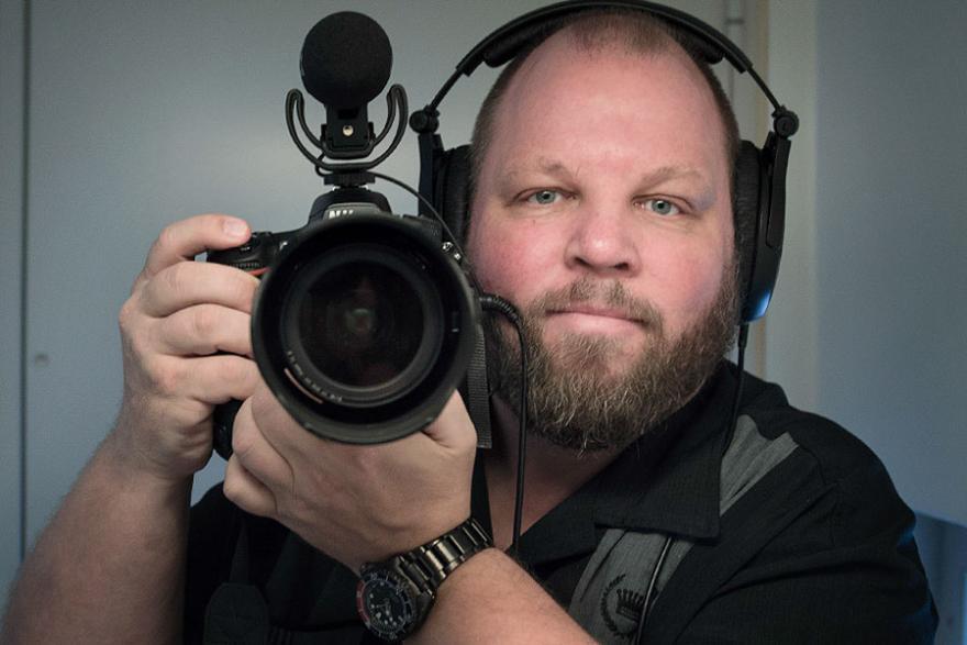 Videojournalist Johnny Frederiksen