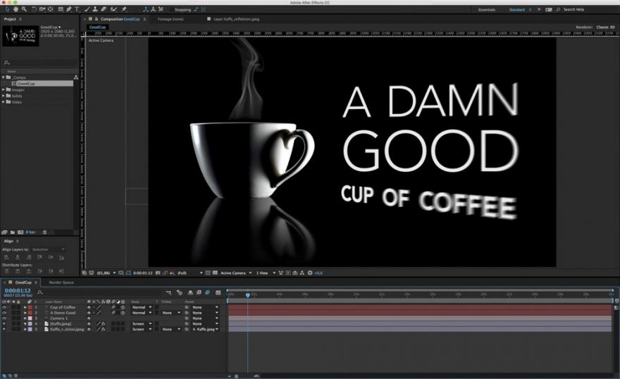 Lav dit eget reklamespot i After Effects